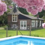 Vakantie huisje met zwembad