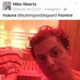 mike weerts te gast, genieten in de sauna wellness van buitengoed de gaard en slapen in de pipowagendeluxe