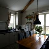 nieuwe keuken met cooker in vakantiehuisje limburg foto harrie bos