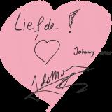 tekst en hart door johnny de mol voor zijn rett-e-ke-tet magnolia bij buitengoed de gaard geplant tijdens zijn verblijf in het vierseizoenenhuisje