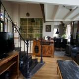 woonkamer met hd tv in vakantiehuis limburg foto harrie bos