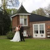 bruidspaar ververs-heijstek  foto aron nijs bruidsreportage bij buitengoed de gaard