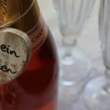 champagne voor bruidsparen-huwelijksjubilea