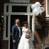 ilona en martijn maakten hun trouwfoto's bij buitengoed de gaard