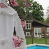 vintage wedding wittebroodsdagen, vierseizoenenhuisje, bij buitengoed de gaard