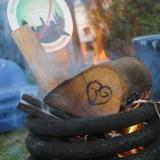 heksenwaan vuur in de hot-tub van vakantiehuisje of pipowagen buitengoed de gaard heksenjaar roermond