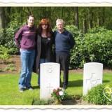 armstrong familie tijdens veteranenweek leudal foto uit boek verdraagtj uch liberation route arrangement buitengoed de gaard